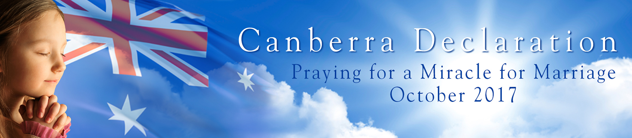 Canberra Declaration Devotionals
