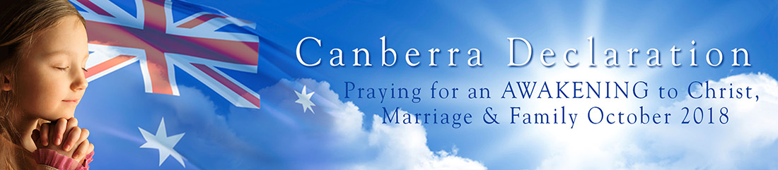 Canberra Declaration Devotionals Logo